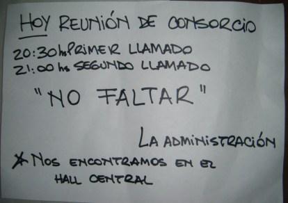 Reunión Consorcio (Foto: Reprodução)